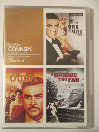 The Sean Connery Collection (Never Say Never Again/Cuba/A Bridge Too Far) (Dvd) by Sean Connery