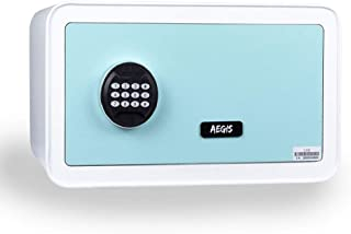 1.12 CF Digital Security Safe Box - Electronic Cabinet Safe with Keypad Lock and Keys Jewelry Safe Box,Apply to Home Hotel...