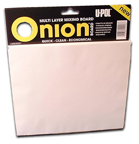 Buy Cheap U-Pol Products 0737 Onion Board Multilayered Mixing Palette