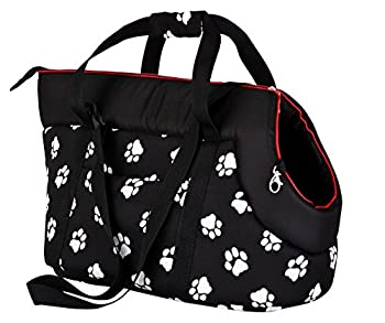 Hobbydog Karlie TOR cwl3 de Transport Chat Sac avec Pattes Taille 40x 30x 55cm, Noir