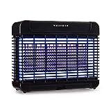 Waldbeck Mosquito Ex 5500 LED Insektenvernichter - 11W, Wirkungsbereich: 150 m², LongLife Technology, magnetischer Transformator, herausnehmbare Auffangschale, Kette zum Aufhängen, schwarz