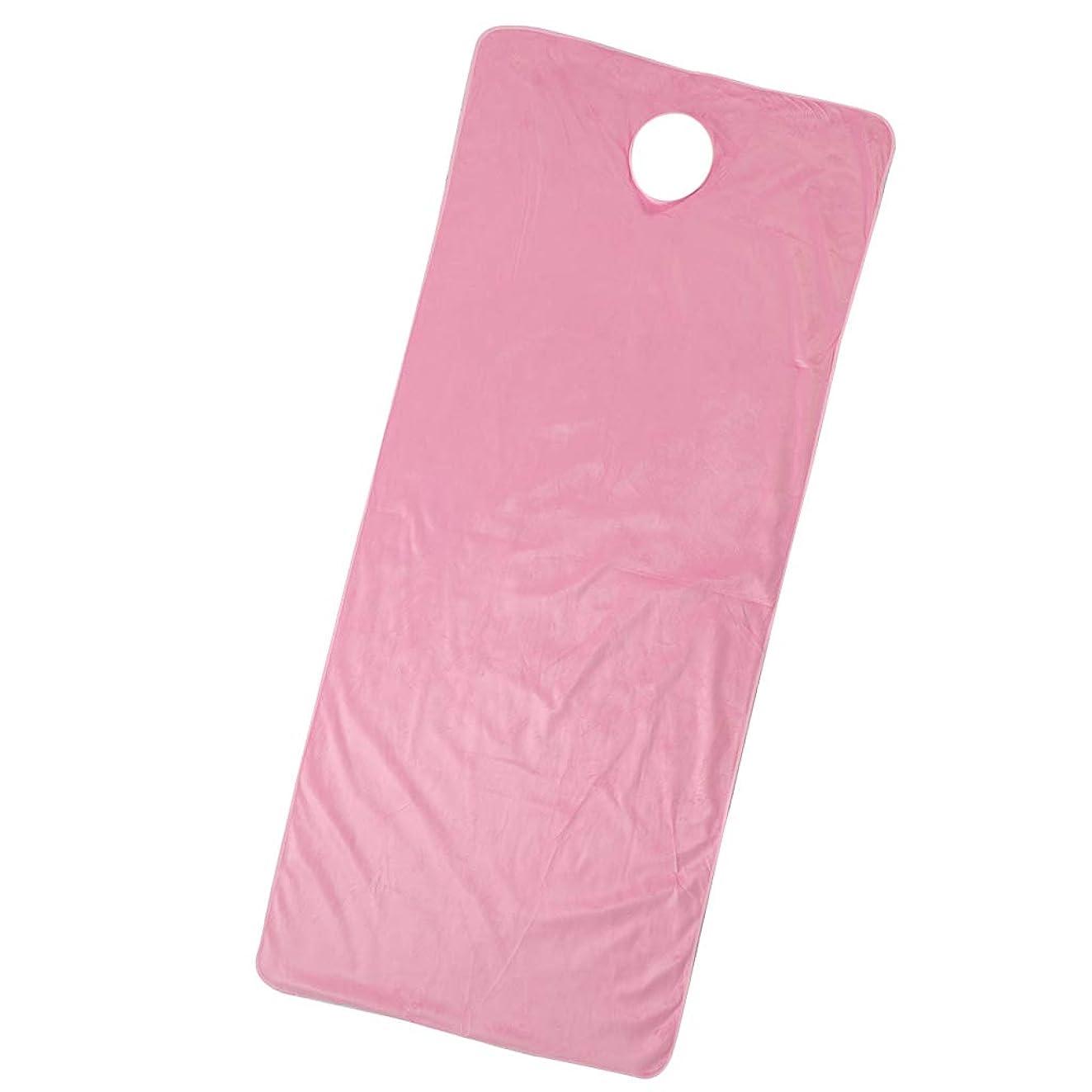 年金他に一定Fenteer スパ マッサージベッドカバー 有孔 うつぶせ 美容ベッドカバー 快適 通気性