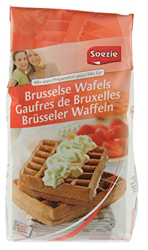 Hobbybäcker Brüsseler Waffeln ►Backmischung, Waffel-Mix, Belgische Waffeln, Dessert, Waffeleisen, Waffeln Machen, 1000g