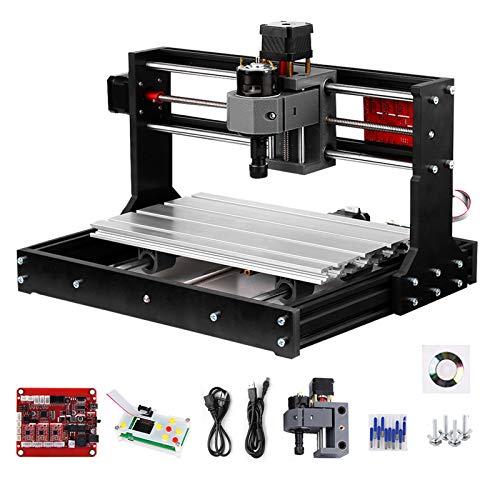 Versión de actualización CNC 3018 Pro GRBL Control DIY Mini máquina CNC Fresadora Pcb de 3 ejes Grabador de enrutador de madera con controlador fuera