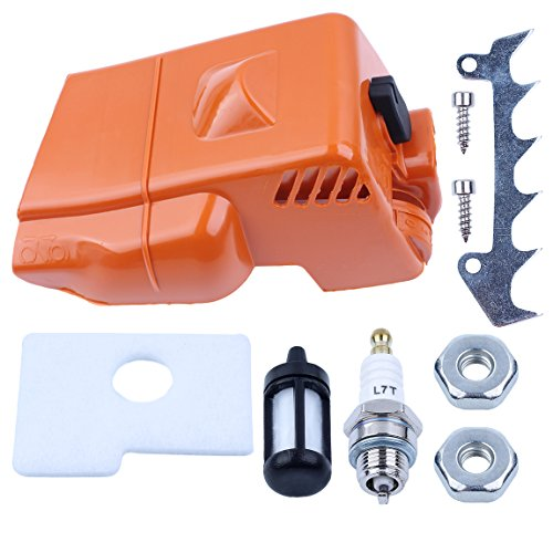 Haishine Top Engine Shroud Cylinder Air Filter Cover for STIHL 018 MS180 MS 170 180 Chainsaw Replacement Spare Parts