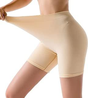Women's Seamless Boyshort Panties, Smooth Slip Shorts for Under Dresses