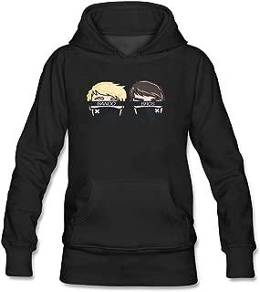 Lookingblue Bando Bros Brock Cartton Head Pullover Hoodies Sweatshirt for Women