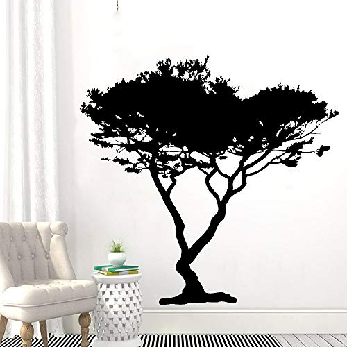 Tree Wall Decals Forest Beautiful Nature Master Bedroom Art Decor Vinyl Wall Stickers Living Room TV Background Decoration Z259