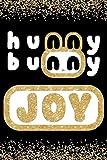 Hunny Bunny Joy: Cute Gold Glitter Red Velvet Member 100 Page 6 x 9' Blank Lined Notebook Kpop Journal Book Fan Merch for ReVeluv Fandom (Red Velvet Member Hunny Bunny Notebooks)
