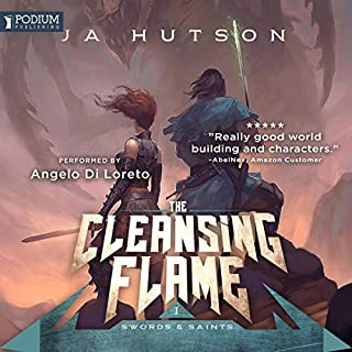 The Cleansing Flame audiobook cover art
