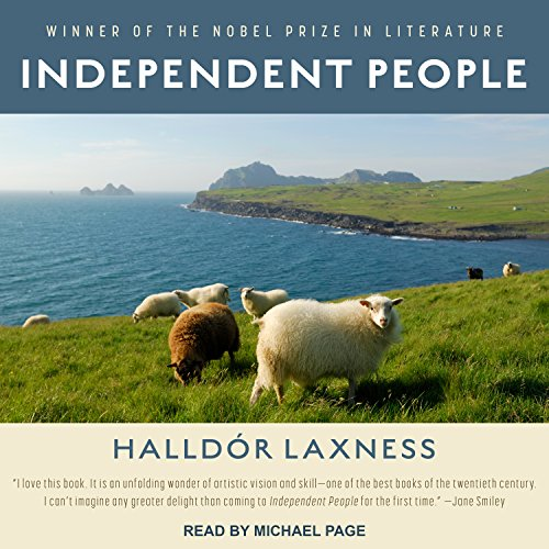 Independent People audiobook cover art
