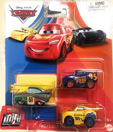 Mattel Cars Metal Mini Racers Ramon / Cruz Ramirez / Saetta McQueen