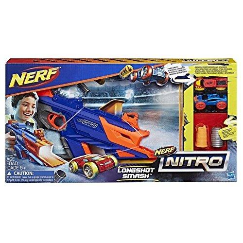 Juguete Nerf Nitro Longshot Smash