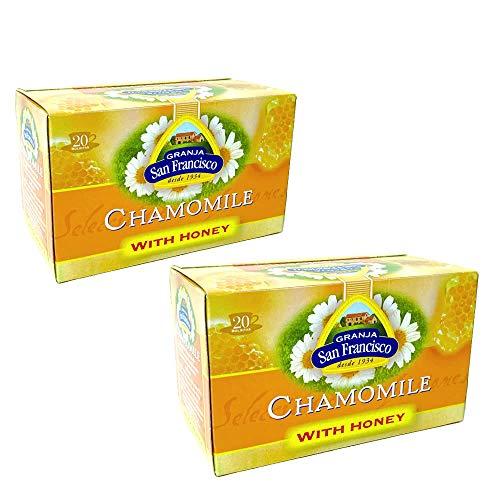 グランハ サン・フランシスコ はちみつ紅茶 カモミールティー 2個セット スペイン紅茶