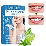 Blanqueamiento de Dientes,Tiras de Blanqueamiento Dental,Kit de Blanqueamiento Dental,Reduce Sensibilidad Dental, Elimina Manchas Dentales,mejora la salud oral,14PCS