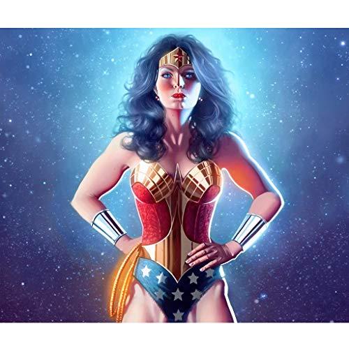 Puzzle Wonder Woman  marca HTQING