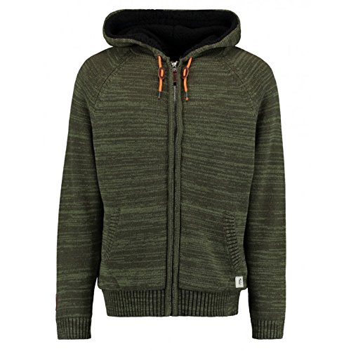 O`Neill fleecejack functionele jas Transitional groen vintage effect