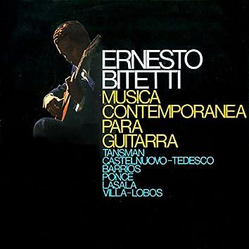 Música Contemporánea para Guitarra