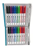 2 Pack Board Dudes SRX Dry Erase Markers, Medium Point, 10-Count, Assorted Colors. Packaging May Vary from Image (DDC99)