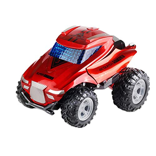 WOIA Control Remoto Eléctrico 1:16 Seis Canales Stunt Dancing Car Stunt Car Toys, Rojo