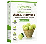 MAKES YOUR SKIN GLOW : Amla gives your skin a smooth and youthful look. It is known to exfoliate skin and remove dead skin cells. AMLA POWDER FOR HAIR GROWTH : Amla Powder, if taken regularly nourishes the scalp and roots and promotes the growth of l...