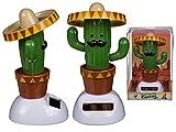 Cactus Figurine Mobile Solaire - Mexique Danse Voiture Bureau Déco Maison - 873