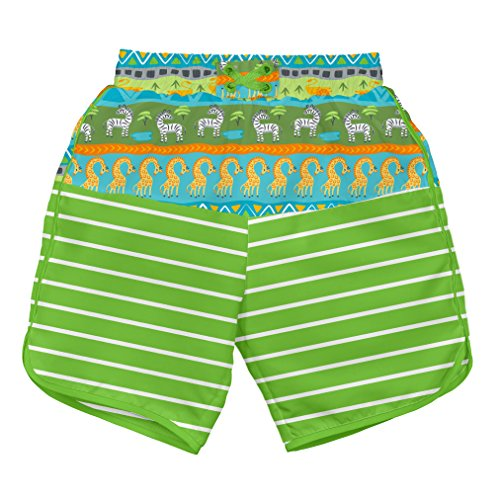 i play Shorts Schwimmwindel Green Safari 3-6 Monate