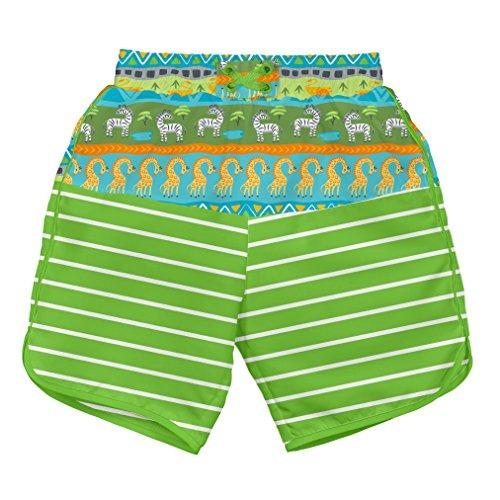 i play Shorts Schwimmwindel Green Safari 3-6 Monate