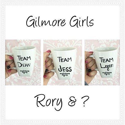 Amazon Com Gilmore Girls Mug Gilmore Girls Revival Team Dean Team Jess Or Team Logan Handmade