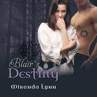 Blair's Destiny audiobook cover art