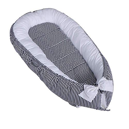 Lowest Prices! ETERLY Striped 100% Cotton Bionic Bed Luxury 襁褓 Wrapped Soft Breathable Washable ...