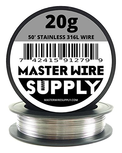 Stainless Steel 316L - 50' - 20 Gauge Wire