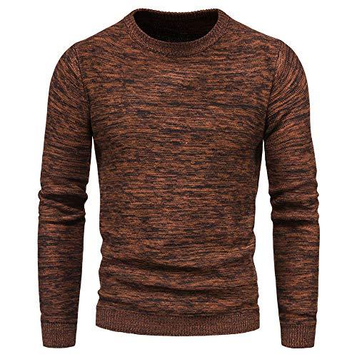 Generice Herren Pullover,Herren Pullover,Herren Variegated Pullover Bottoming Shirts...