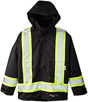 Viking Men s Professional Insulated Journeyman FR Waterproof Flame Resistant Jacket Black Large