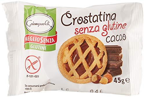 Giampaoli Crostatina al Cacao Senza Glutine - Expo 15 pz x 45 gr (675 gr)