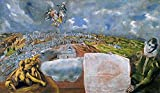 1000 Tabletas Rompecabezas Pieza Juguetes para Juego Cartel Adulto Familia Decoración Rompecabezas - El Greco - Vista y Plano de Toledo