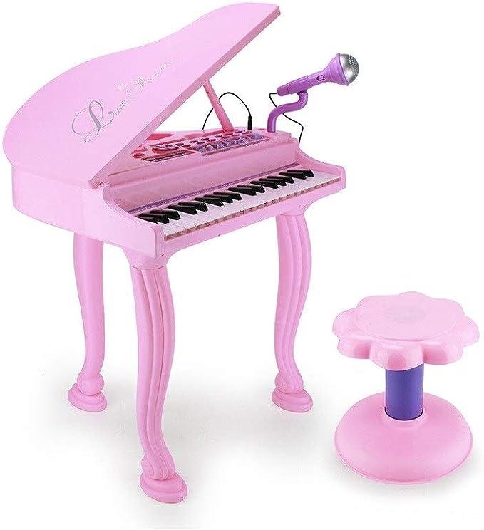 HXGL-piano Piano Electrónico For Niños con Micrófono ...