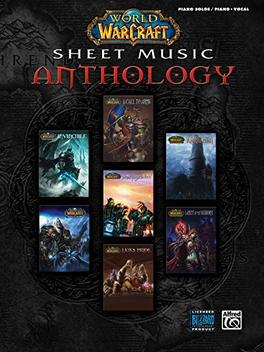 World of Warcraft Sheet Music Anthology: Piano Solos / Piano/ Vocal