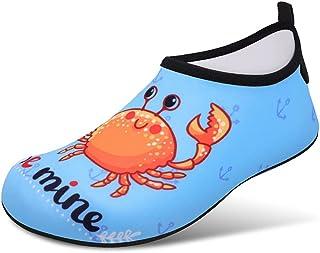 Kids Beach Swim Shoes Water Sport Schoenen, Barefoot Skin Boys Girls Antislip Sneldrogende Aqua Sokken voor zwembad Surfen...