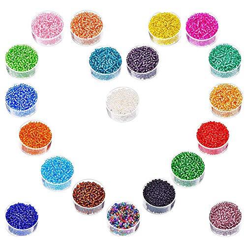 Cuentas de Cristal Multicolor