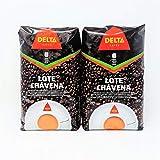 Delta Cafe Lote Chavena - 1 Kg - grano - Portugal (Mescla Torrefacto, 2 x 1 Kg)