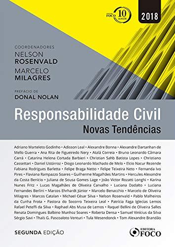 Responsabilidade Civil - Novas tendências - 2ª edição - 2018
