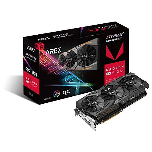 ASUS AREZ -STRIX-RXVEGA56-O8G-GAMING Radeon RX Vega 56 8 GB Memoria a banda larga elevata 2 (HBM2)