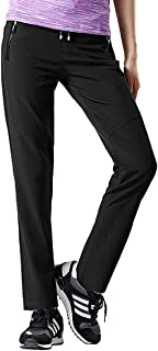 Aygience Hiking Pants Women Outdoor Quick Drying Mountain Trousers Lightweight Travel Pants with Pockets