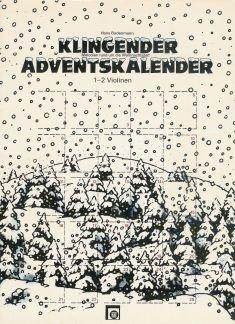 Lemmet Adventskalender – gearrangeerd voor viool – (voor een tot twee instrumenten) [noten/sheetmusic]