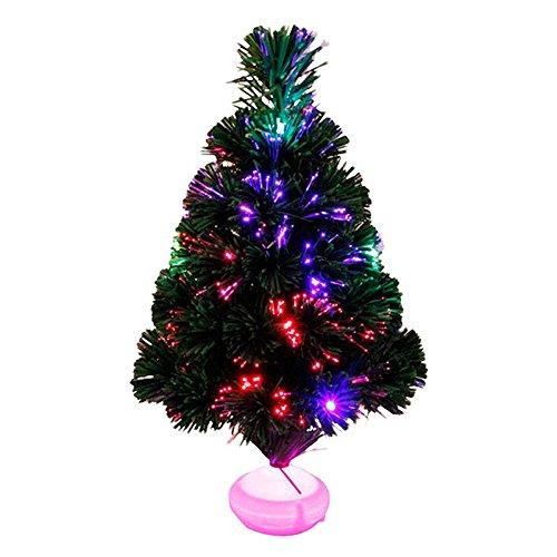 Blanketswarm 45cm / 18in Natale Albero Bellissimo LED Illuminazione Albero di Natale con Stare in Piedi Casa Giardino Decorazione