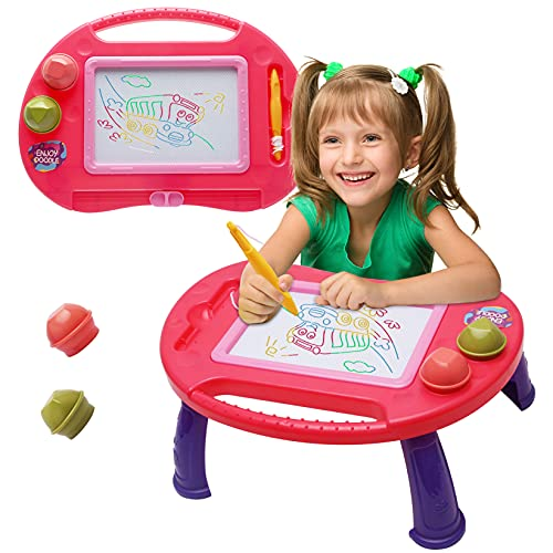 Toddler Toys for 2 3 Year Old Girls Gift,Erasable Magnetic Drawing Board, A...