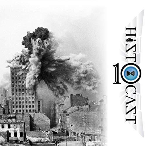 Diseño de la portada del título HistoCast 213 - Sitios y asedios legendarios X