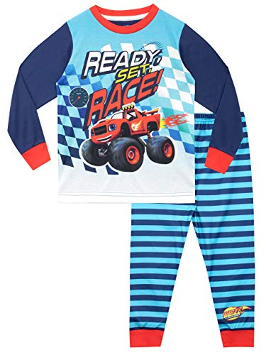 Blaze y los Monster Machines Pijamas de Manga Corta para ni�