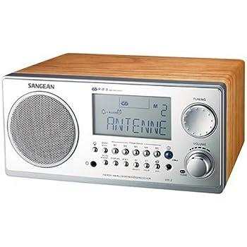 Sangean Wr11se Hi Fi Analog Table Top Radio 40th Anniversary Edition Gold Face